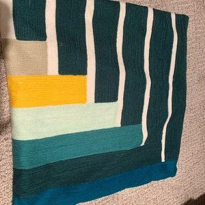 West elm Margo Selby block pillow case 20x20